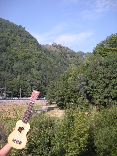 Ukulele and Dracula's castle