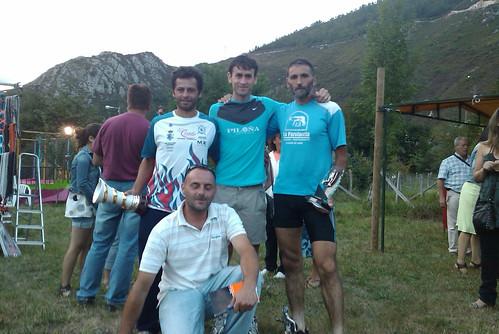 Podio de la Subida a la Jorcadiella 2010