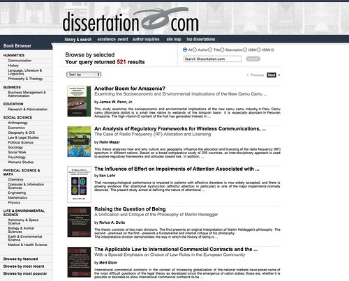 Dissertation Tools & Tips