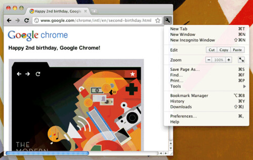 hình ảnh trình duyệt google chrome 6 chrome