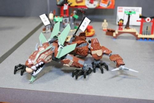 LEGO Toy Fair 2011 - Ninjago - 2509 Earth Dragon Defense - 2