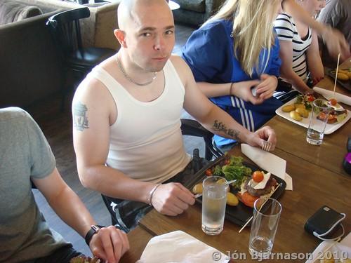 Lunch og Sonni