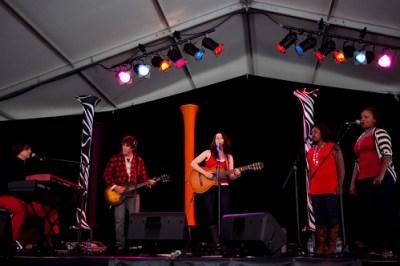 Jill Zmud @ Canada Day at Ottawa Jazz Festival