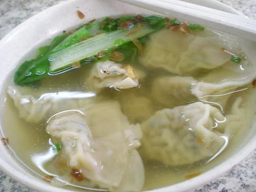 Sibu meat dumpling soup