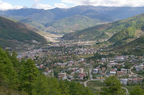 View of Bhutan