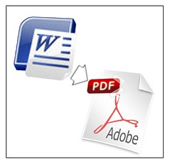 Convertir documentos de Word en archivos PDF