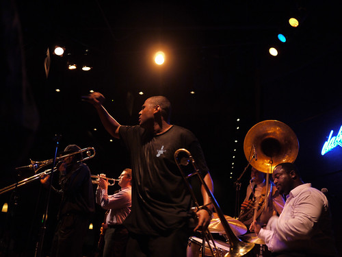 Band Sweating It Out - Treme