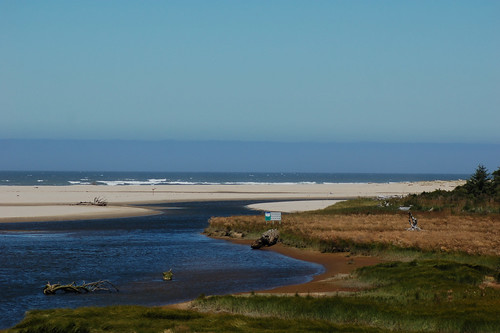Origan Dunes National Park. By the beach