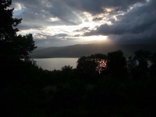 Lake Biel from Henri's living room