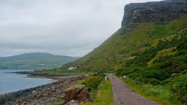 Dramatic coastline of Mull