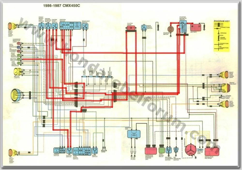 medium resolution of 2002 cmx250c wiring diagram wiring circuit u2022 1986 honda cb450sc nighthawk 1986 honda cb450sc wiring