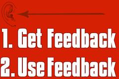 get feedback use feedback