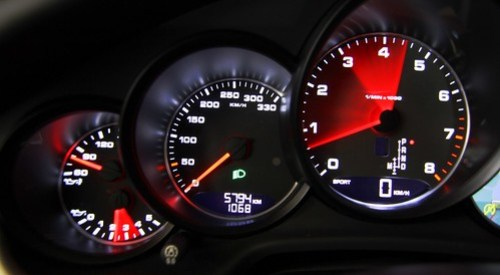 Porsche Panamera 4S Dashboard