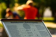 stenlabyrinten i kulturhusparken