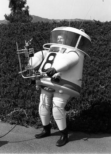 Lunar Exploration Suit - JPL c.1959