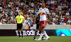Thierry Henry's debut as a Red Bull