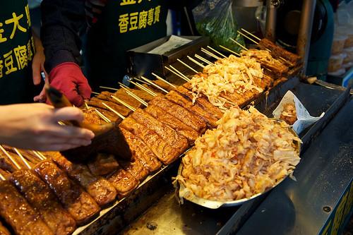 A Famous Stinky Tofu Stall