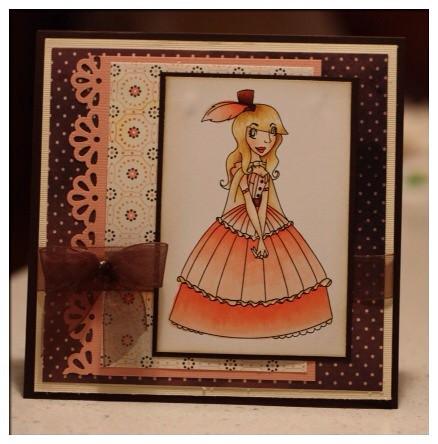 victorian beauties card