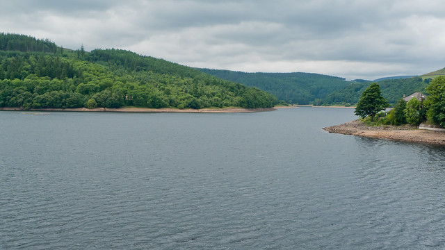 The view over Ladybower
