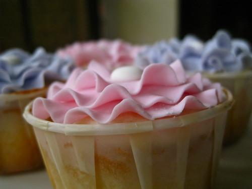 Frilly cupcake