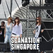 4Minute rehearsal for Celebrations @ Marina Bay