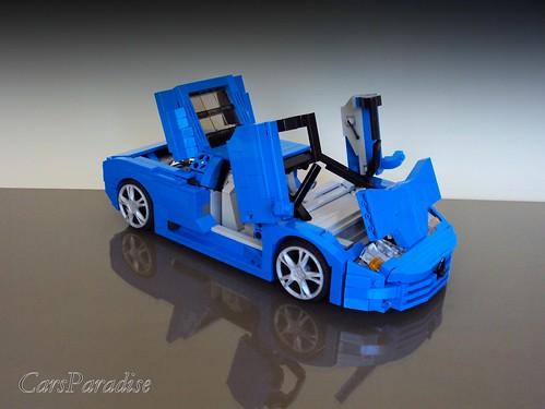 Bugatti EB110 SS - functional elements