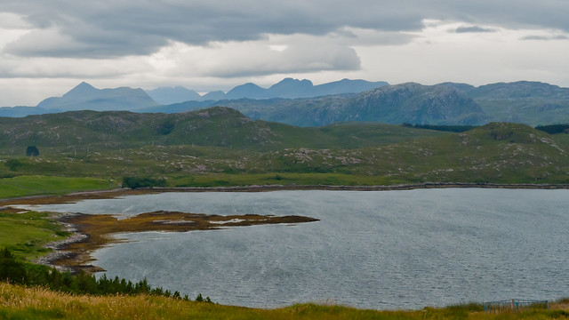View from near Tournaig