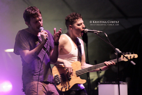 Chris Keating & Ira Wolf Tuton of Yeasayer