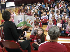 2011 OU Story Time @ Lloyd Noble by Pioneer Library System, on Flickr