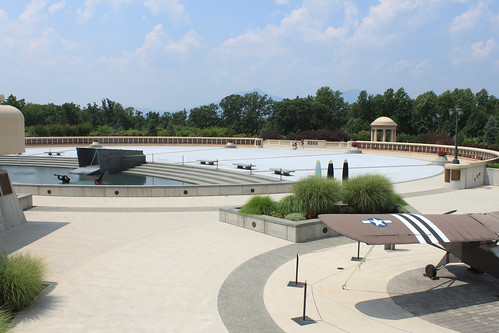 National D-Day Memorial - Plaza and Plane