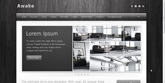 Awake Premium WordPress Theme with Frosted Gla...