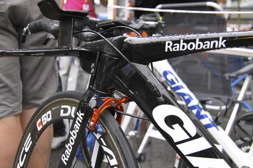time trial bikes from the 2010 tour prologue