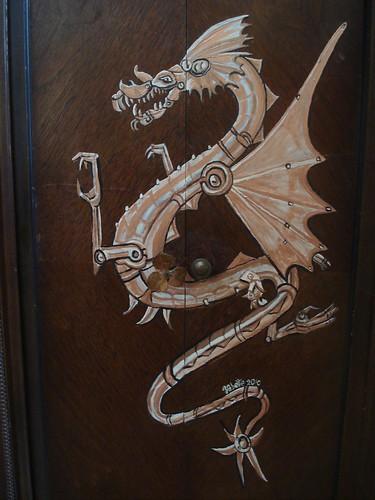 Dragon Cabinet detail