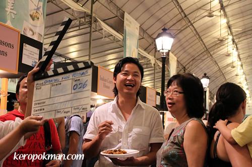 Luke Nguyen and Sylvia Tan