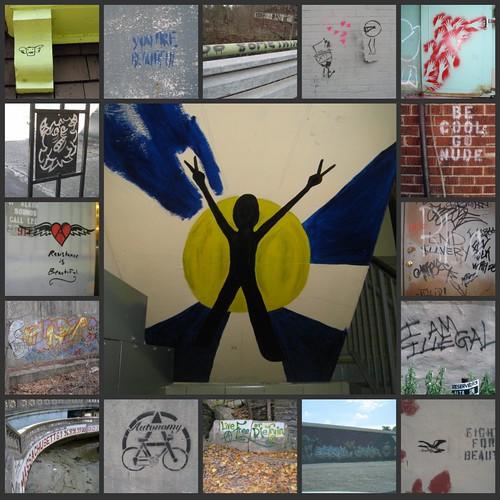 Mosaic Monday: Graffiti