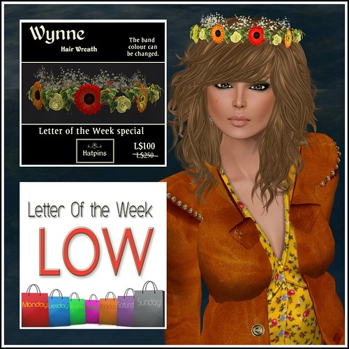 Hatpins - Wynne Wreath - LoW Sale