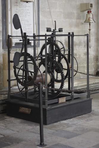 Medieval clock, Salisbury Cathedral