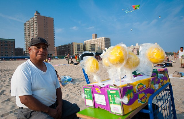 Mango Vendor; Brighton Beach