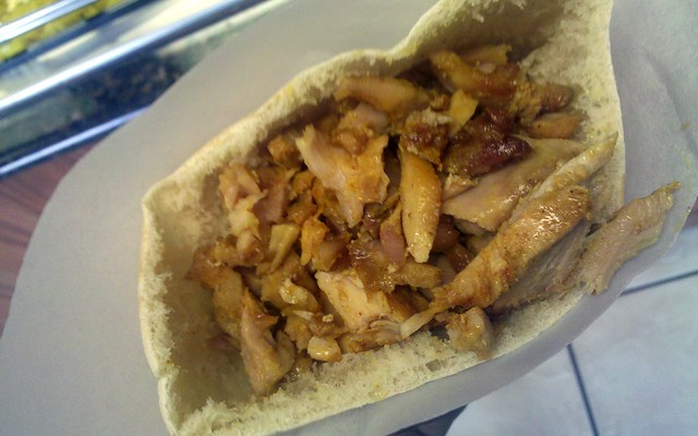 pita palace - the chicken gyro meat