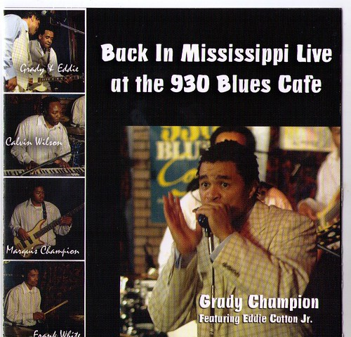 Grady Champion - Back in Mississippi (CD)