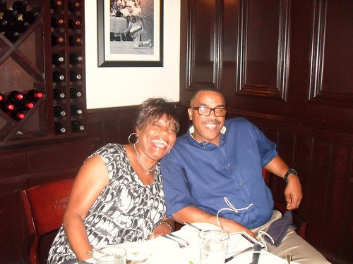 Mom and Dad at Birthday Luncheon