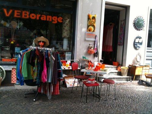 Cool vintage store in Berlin