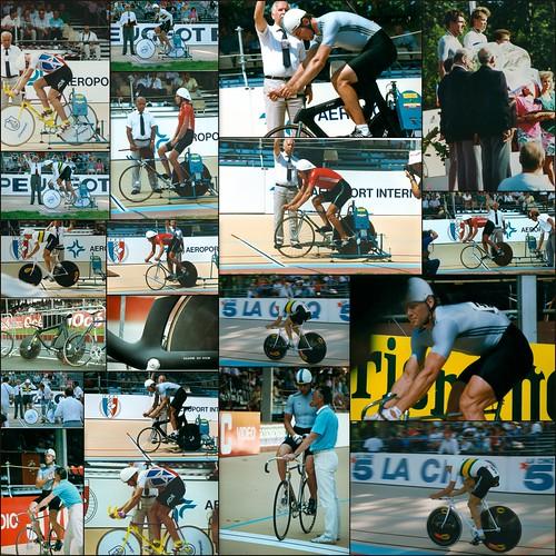 World Track Cycling Championships, Lyon, France, 1989