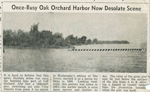 Oak Orchard Harbor 1948