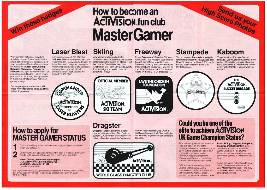 Become an Activision Master Gamer