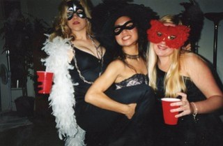 college party - masquerade party!