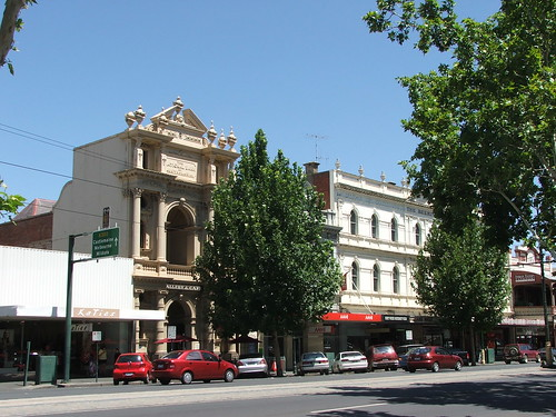 Picture from Downtown Bendigo, Australia