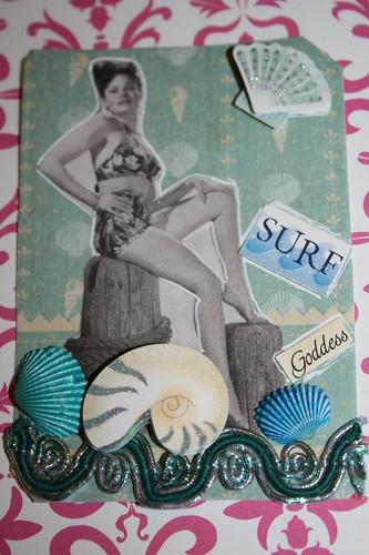 Pin-up Surf Goddess for Swap-bot.com