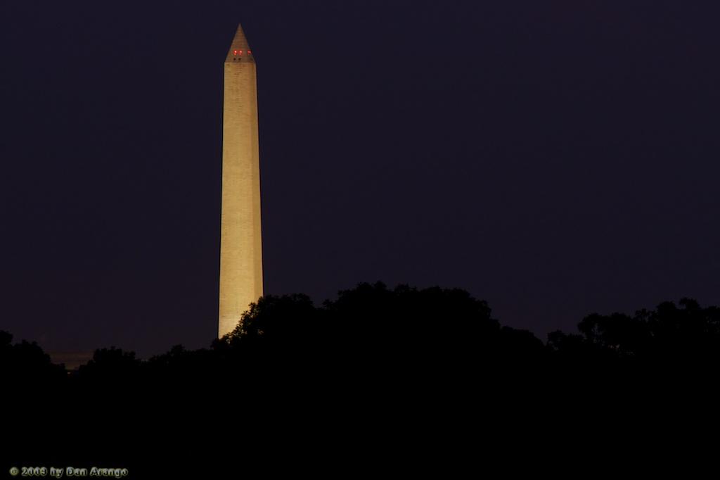 Washington Memorial Summer Night