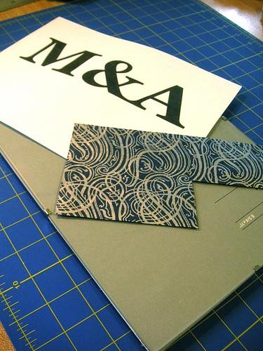 Custom Paper Monograms